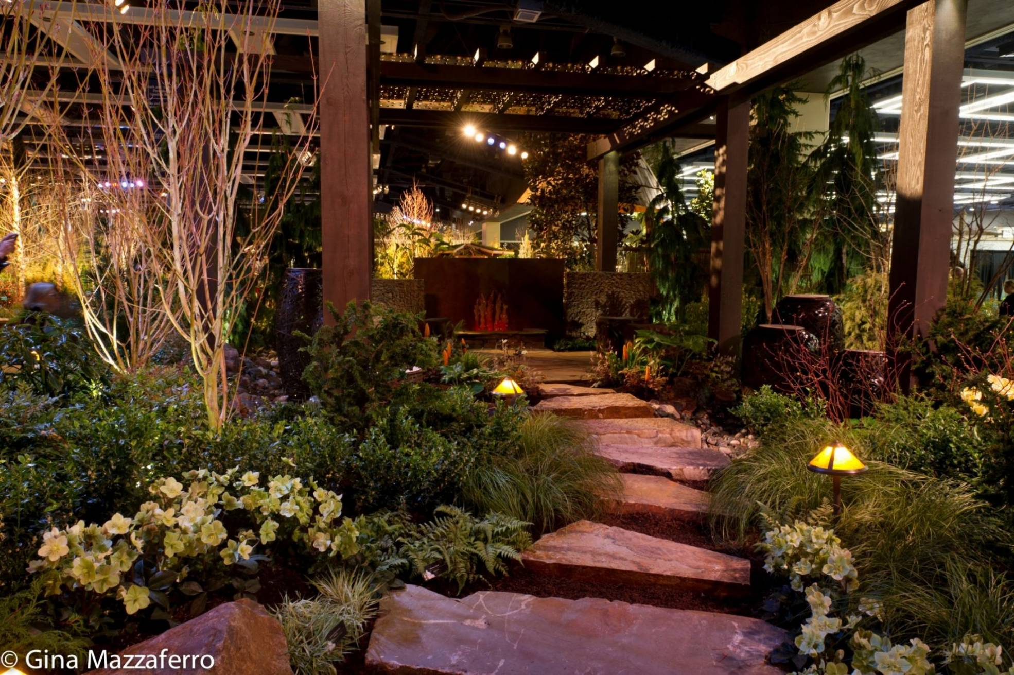 How are the display gardens at the Northwest Flower and Garden Show ...