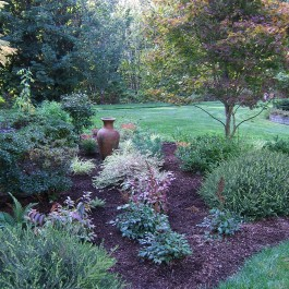 Wonderful Garden Ideas To Hide Septic Tank Systems And Fields On