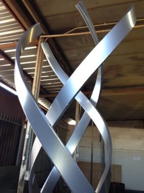 'Kismet'  metal sculpture by terr Sculpture