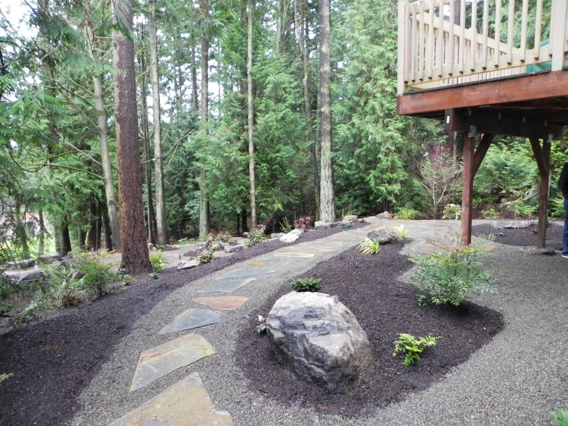 Woodland garden after 9 sublime garden design for Woodland garden designs