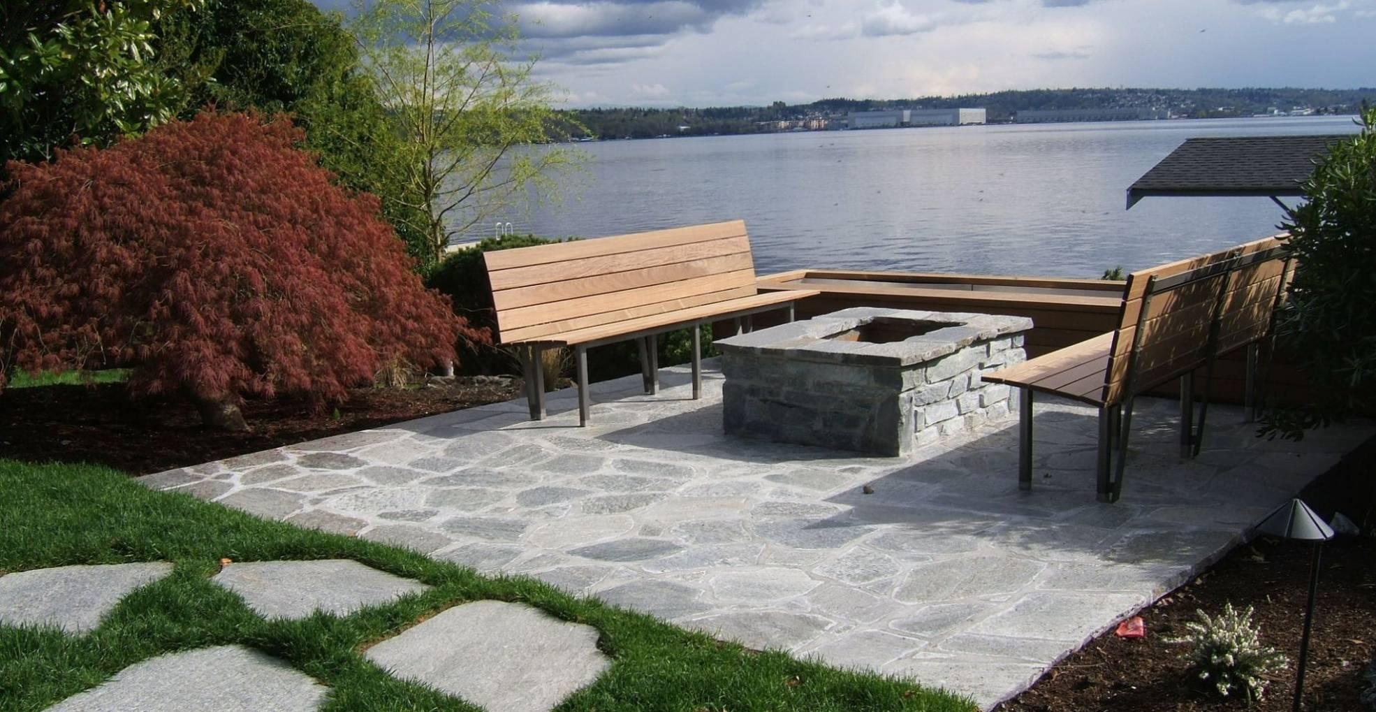 Lake Washington Firepit Sublime Garden Design