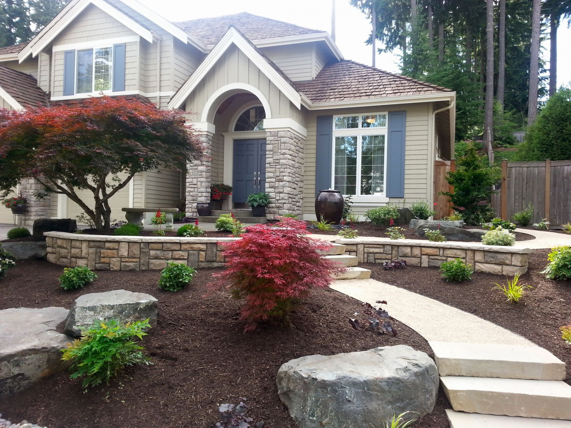 Mill Creek Curb Appeal Sublime Garden Design Landscape Design