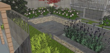 Seattle Landscape Design 3D Model Sublime Garden Design