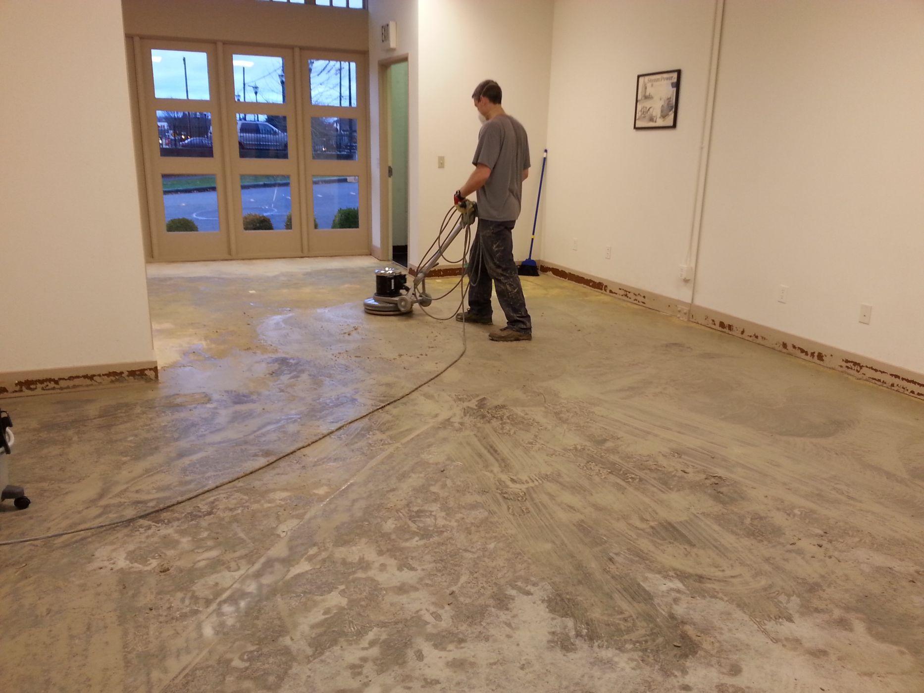 Refinishing Concrete Floors Sublime