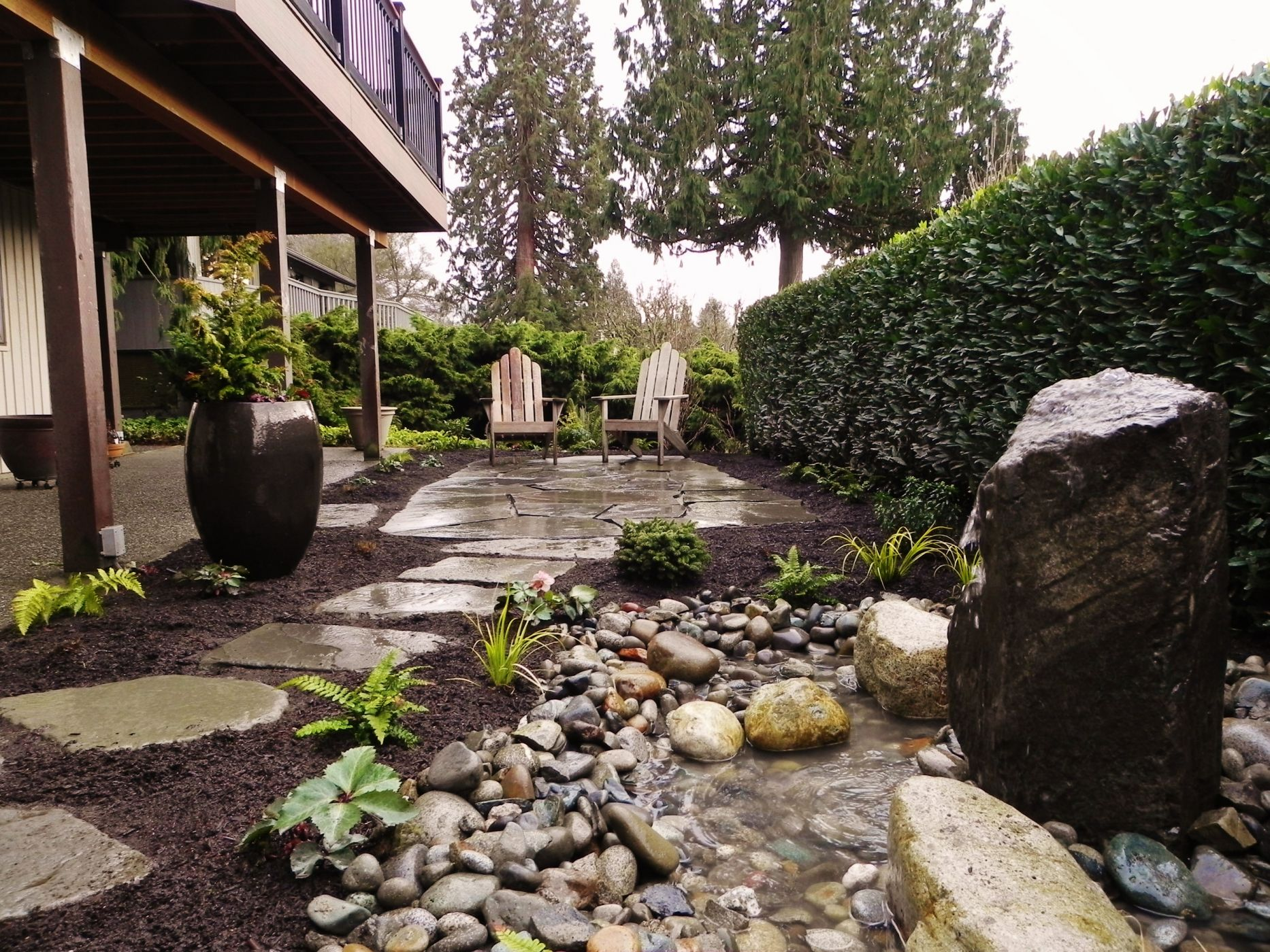 edmonds backyard landscape sublime garden design