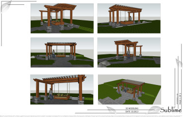 Woodinville landscape 3D Model