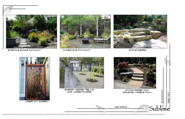Woodway landscape design idea photos