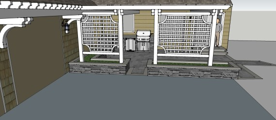 Sublime Garden Design 3D Model (3)