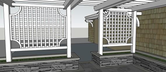 Sublime Garden Design 3D Model (6)