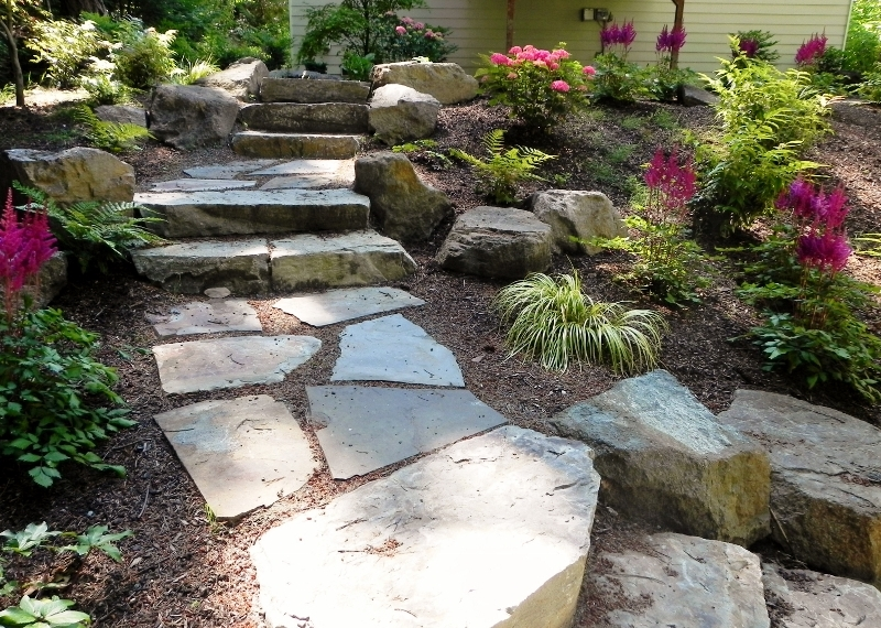 Stone Steps In Shoreline 800x584 Jpg Sublime Garden