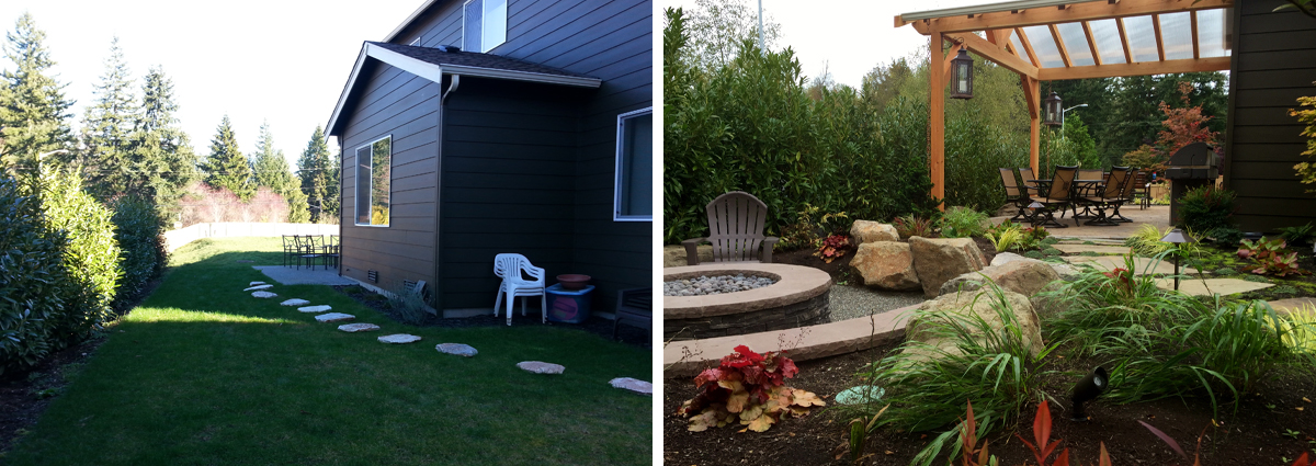 Before and After in Bothell Washington by Sublime Garden Design 425x1200 5