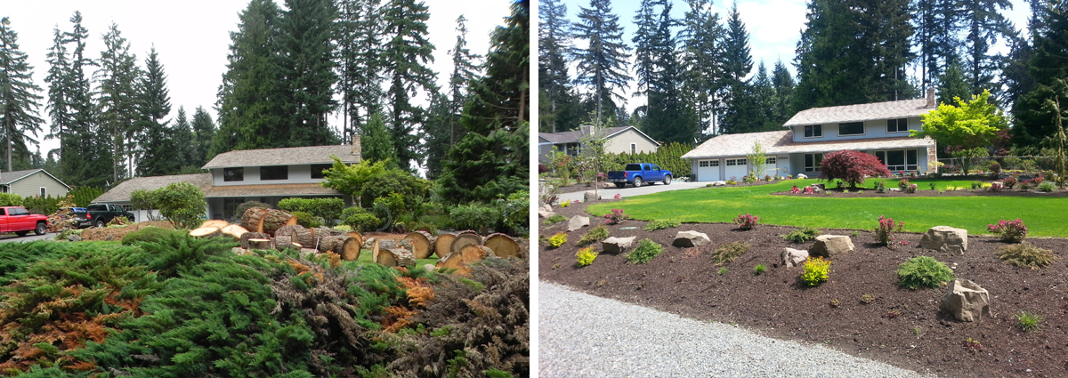 Before and After in Bothell Washington by Sublime Garden Design 425x1200 7