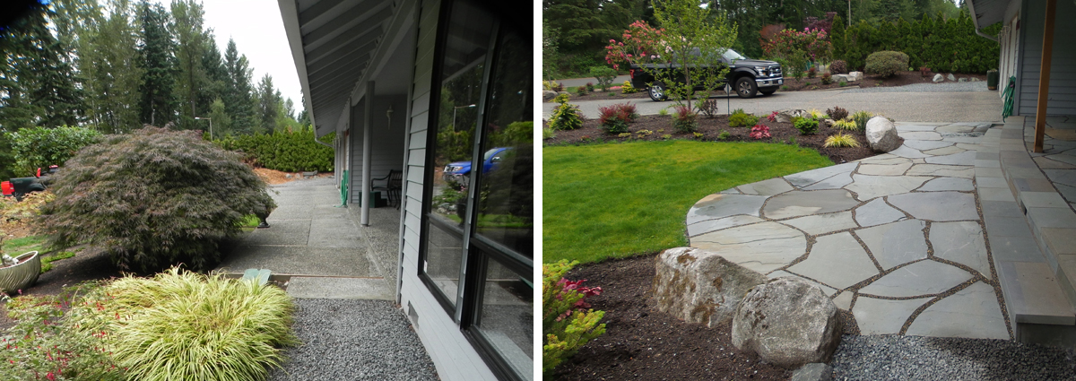 Before and After in Bothell Washington by Sublime Garden Design 425x1200 8