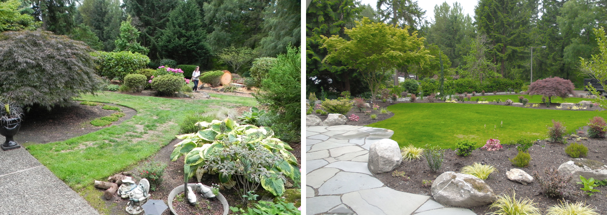 Before and After in Bothell Washington by Sublime Garden Design 425x1200 9