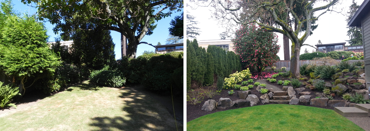 Before and After in Medina Washington by Sublime Garden Design 425x1200 4