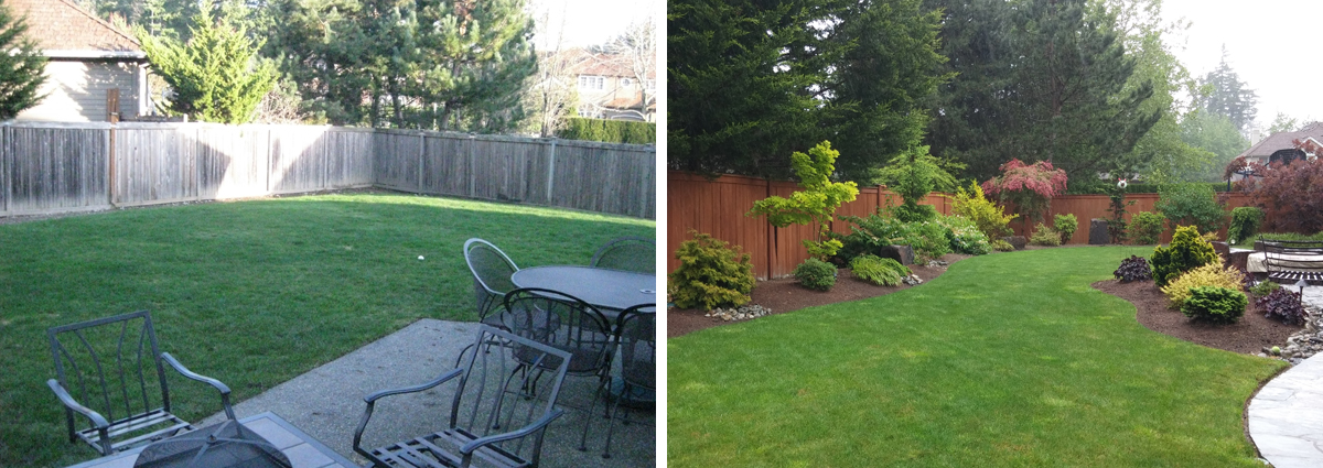 Before and After in Sammamish Washington by Sublime Garden Design 425x1200 1