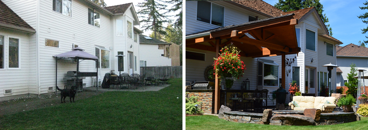 Before and After in Sammamish Washington by Sublime Garden Design 425x1200 2