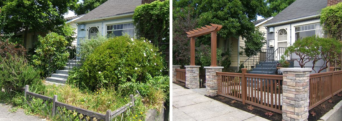 Before and After in Seattle Washington by Sublime Garden Design 425x1200 1