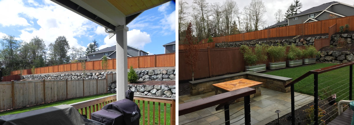 before and after in brier washington by sublime garden design 2