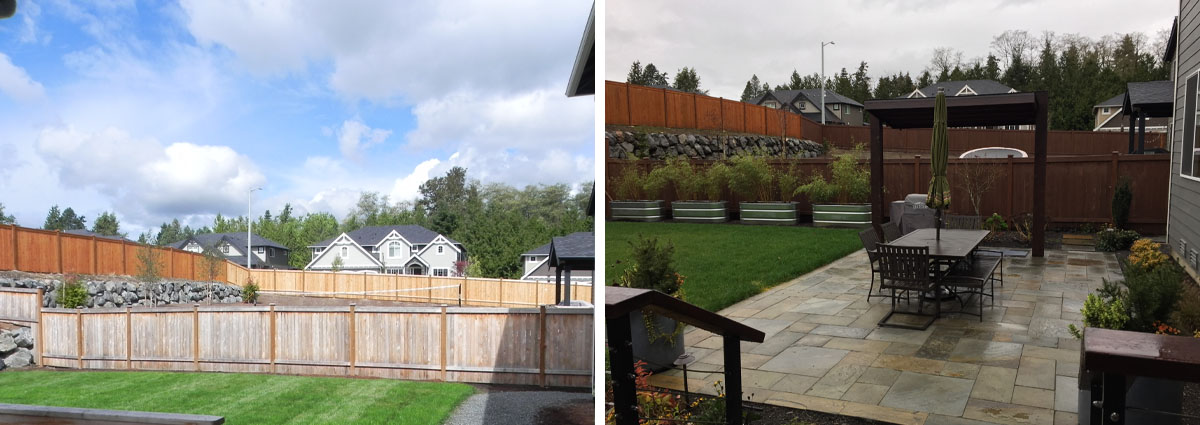 Before and After in Brier Washington by Sublime Garden Design 3