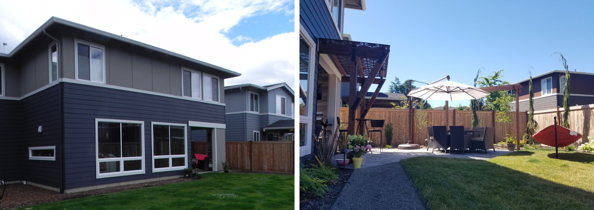 Before and After in Edmonds by Sublime Garden Design 2