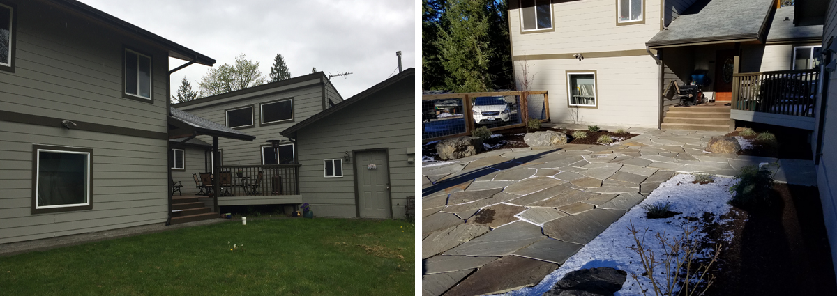 Before and After in Lynnwood Washington 2