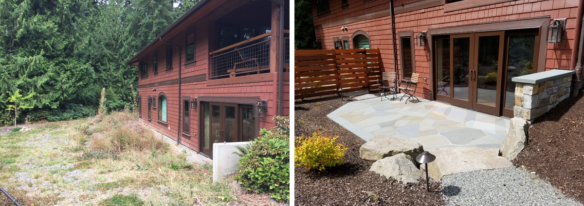 Before and After in Redmond Washington by Sublime Garden Design 3
