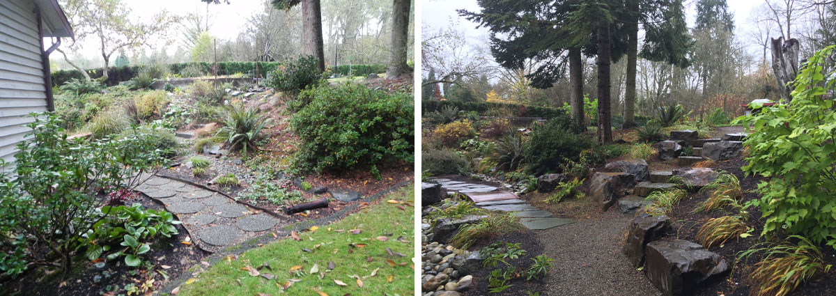 Before and After in Snohomish Washington by Sublime Garden Design 5