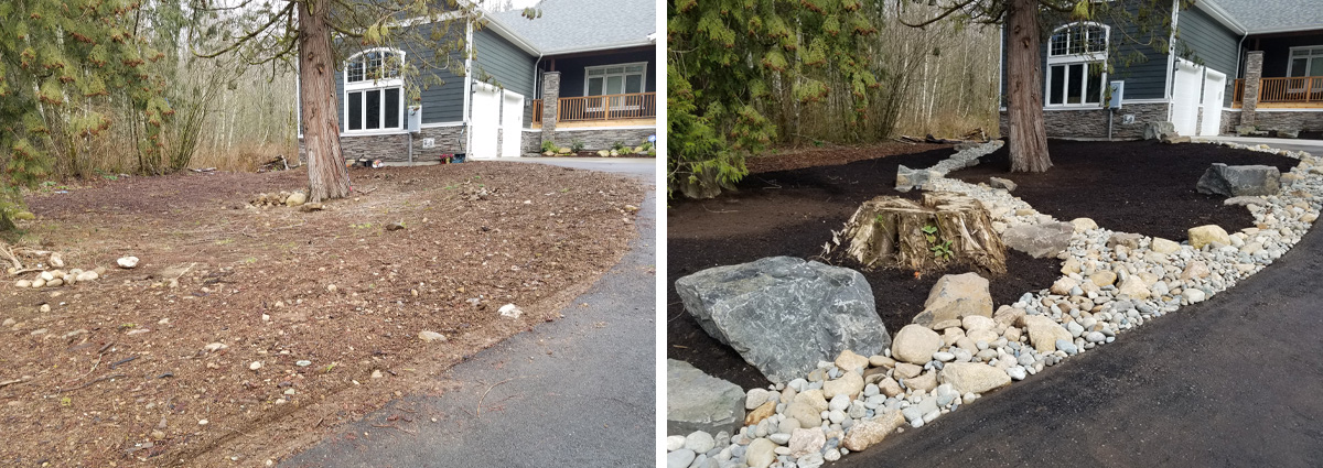 Before and After in Snohomish Washington by Sublime Garden Design 6