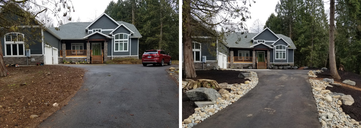 Before and After in Snohomish Washington by Sublime Garden Design 7