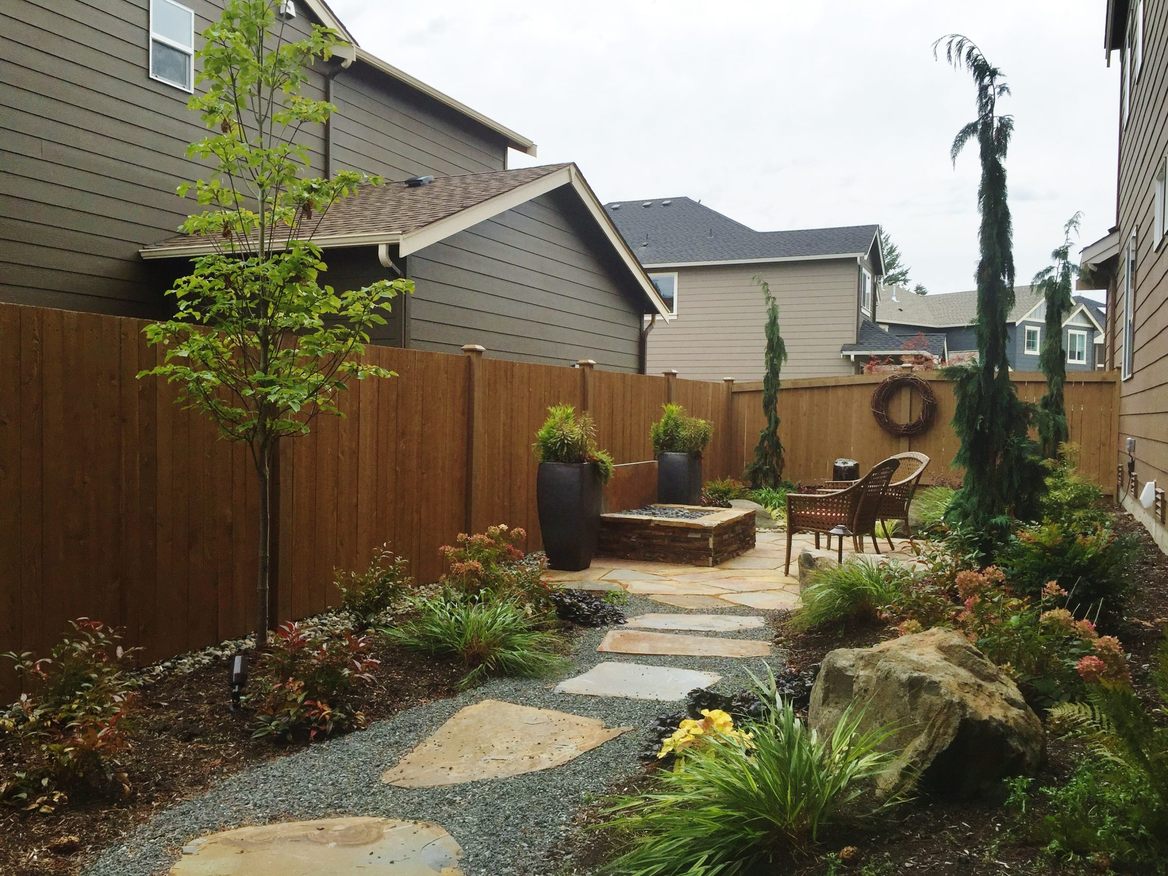 Outdoor Gathering Space | Sublime Garden Design ...