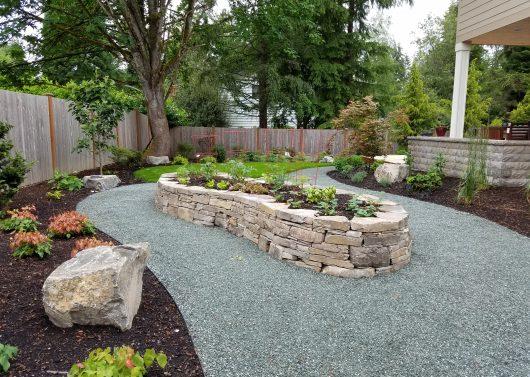 Bothell  side yard vegetable garden