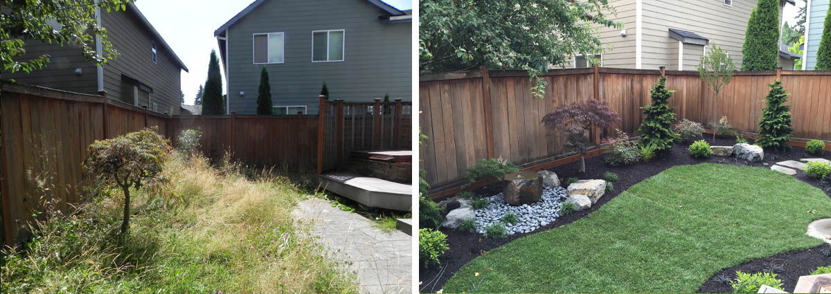 Before and After in Bothell Washington by Sublime Garden Design 425x1200 10