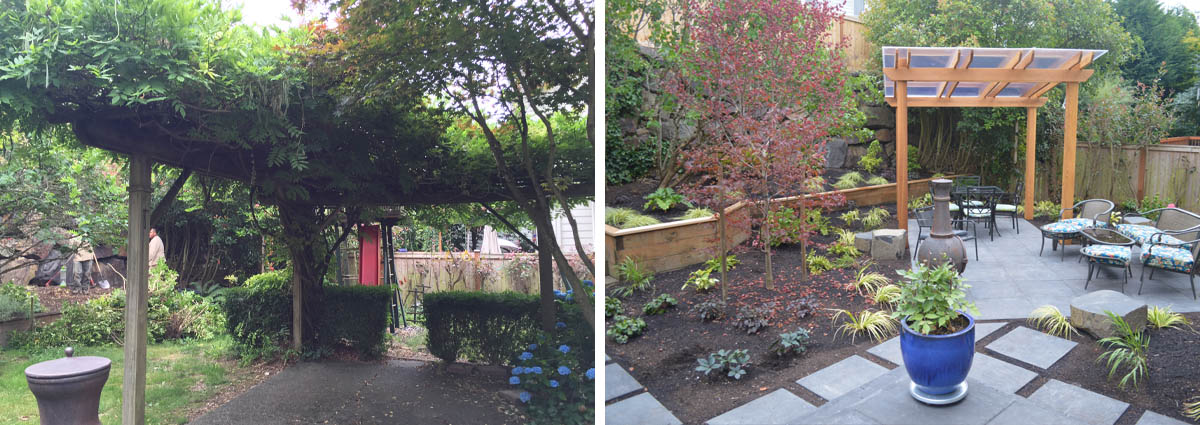 Before and After in Kirkland Washington by Sublime Garden Design 425x1200