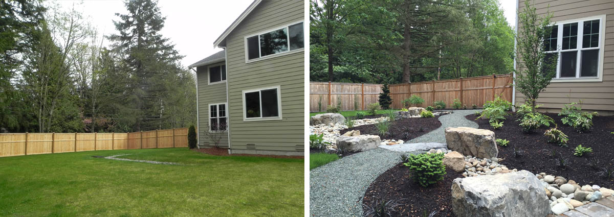 Before and After in Woodinville Washington by Sublime Garden Design 425x1200 1