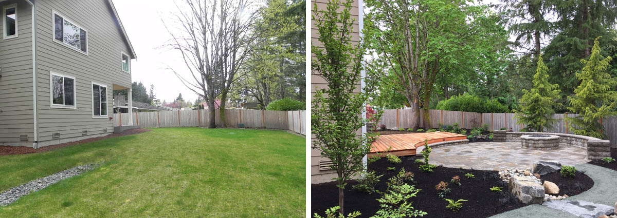 Before and After in Woodinville Washington by Sublime Garden Design 425x1200