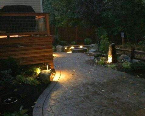 Outdoor lighting u2013 Bothell WA & Outdoor lighting - Bothell WA | Sublime Garden Design | Landscape ...