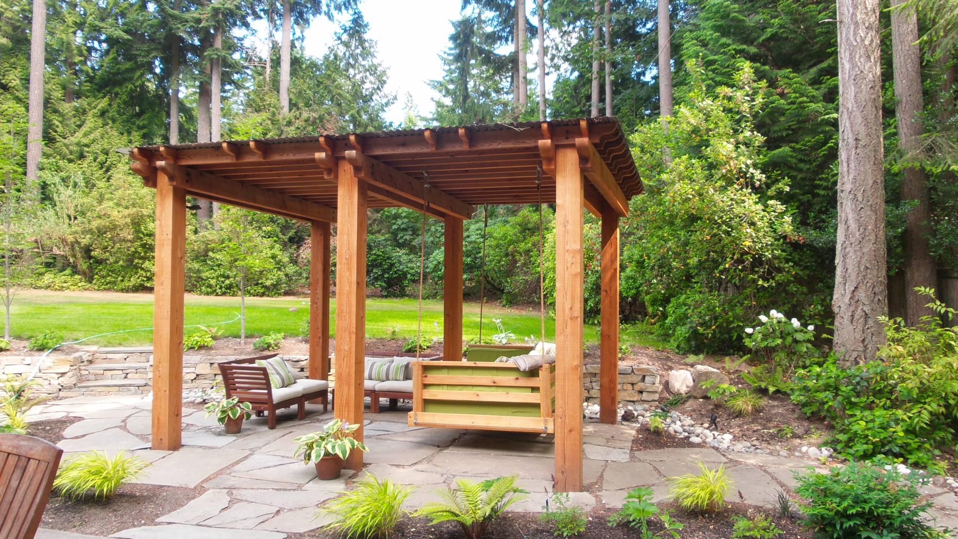 woodinville shade structure sublime garden design landscape