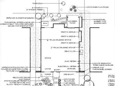 Woodinville Landscape Plan
