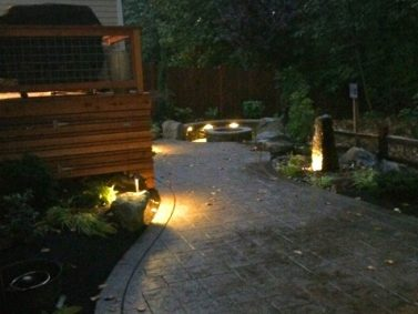 Outdoor lighting - Bothell, WA