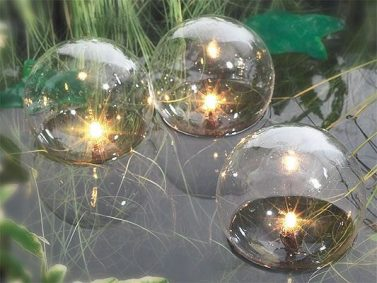 Floating Lights Photo Courtesy of Fresh Yard Ideas