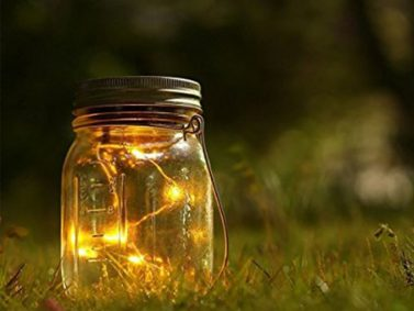 Mason Jar Lights Photo Courtesy of DwFields